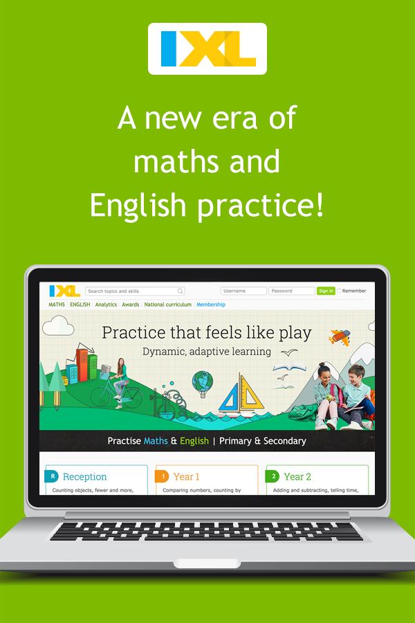 IXL | Maths and English Practice