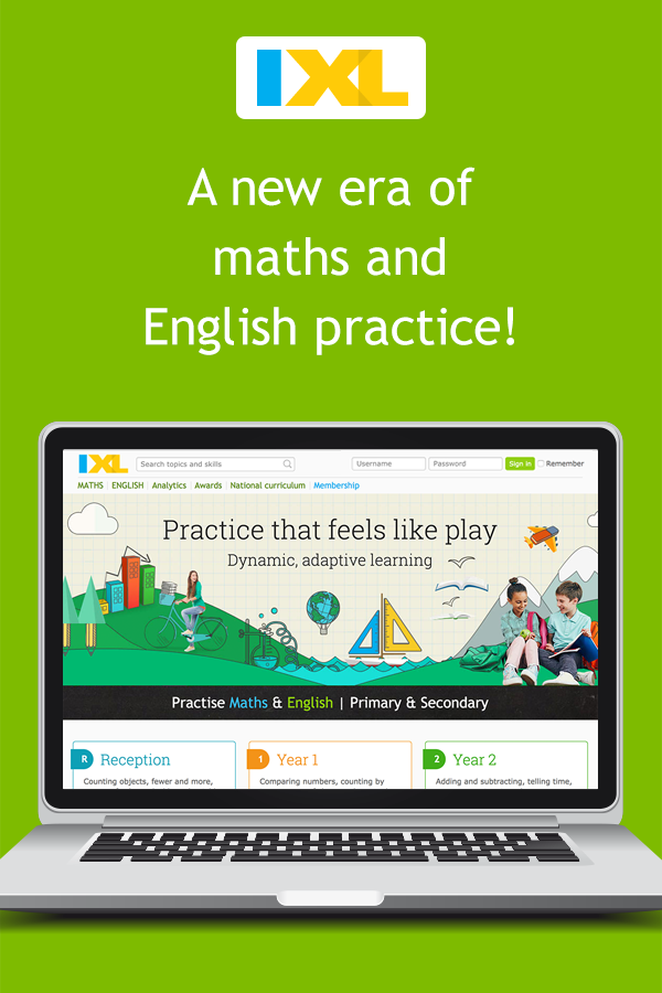 IXL | Maths and English Practice