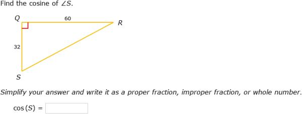 IXL - Trigonometric ratios: sin, cos and tan (Year 9 maths