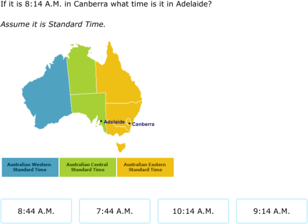 What is the date and time in Australia
