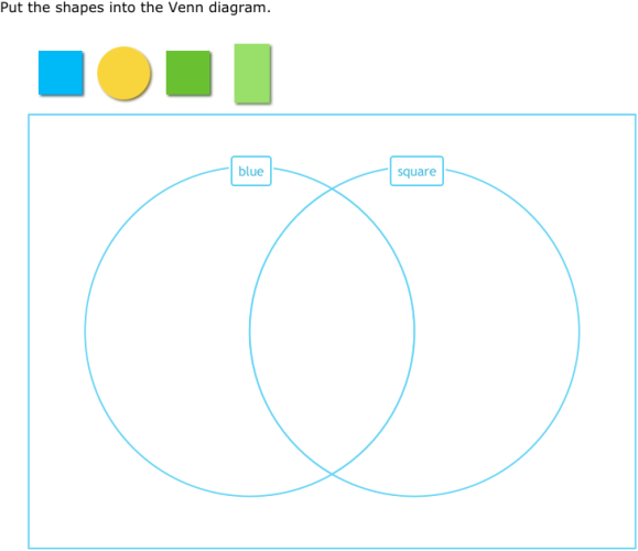 Ixl Sort Shapes Into A Venn Diagram Year 2 Maths Practice