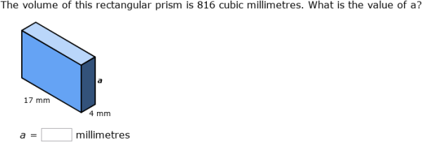 IXL - Volume of cylinders and prisms (Year 9 maths practice)